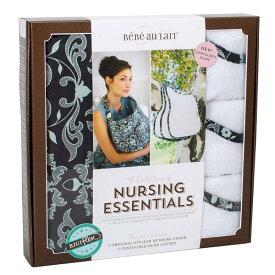 税込5,400円以上送料無料 ベベオレ 授乳 ケープ &バープクロスセット【 ダッチェス 】 Bebe Au Lait 【ギフトセット】 授乳服 ナーシングカバー Nursing Essentials 【あす楽対応】