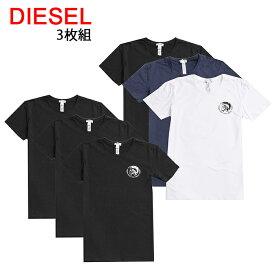 送料無料 ディーゼル Tシャツ 半袖 丸首 3枚セット 00SJ5L 0TANL UMTEE RANDAL 3Pack 【80-81】 あす楽 対応