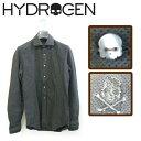 ハイドロゲン 【 HYDROGEN 】カッターシャツ 長袖 120448 【 メンズ S/M/L/XL 】【あす楽対応】【HLS_DU】【RCP】