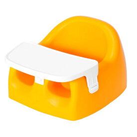 送料無料 カリブ 椅子 PM3386 ソフトチェアー& トレイセット(トレイ付)【オレンジ】 Karibu Seat with plastic Tray 赤ちゃんのイス ベビーソファ【のようなソフトチェア】 ベビーチェア【あす楽対応】