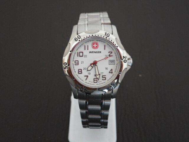 WENGER レディース腕時計 ウォッチ クォーツ シルバー SS 【中古】ht848
