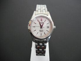 8957ac53e9 RICOH リコー アトランタ レディース腕時計 シルバー×白 クォーツ SS 【中古】 ht1245