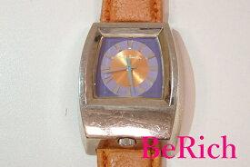 ポールスミス Paul Smith メンズ 腕時計 6628-664655 パープル オレンジ 紫 橙 文字盤 SS レザー ブレス アナログ クォーツ ファッション ウォッチ 時計 紳士 レディース 【中古】 ht2065