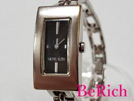 ミッシェル クラン MICHEL KLEIN レディース 腕時計 1N00-0650 黒 ブラック 文字盤 SS シルバー クォーツ QZ ウォッチ 【中古】【送料無料】 ht2434