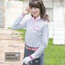 【選べる6サイズ】 桜ギンガムチェックシャツ M L 2L XL LL 3L 4L 5L