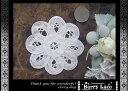 お花の バテンレースA(白)