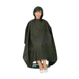 毛染めケープ 毛染め用 ケープ クロが映える袖なし B8004 ブラック ヘアダイクロス 髪切る時に着るやつ 通販 12/14更新♪