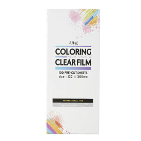 アイビル カラーリングクリアフィルム [クリア] AIVIL 透明 塗り残しなし ブリーチ カラー 仕上がり 技術 向上 ◆