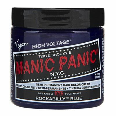 マニックパニック ロカビリー ブルーヘアカラー通販manic panic◆4/25更新♪