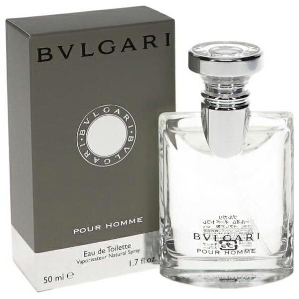ブルガリ プールオム EDT オードトワレ SP 50ml (国内正規品) (香水) BVLGARI