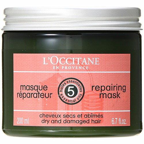 ロクシタン ファイブハーブス リペアリング ヘアマスク 200ml (訳あり 外装汚れ) L'OCCITANE LOCCITANE
