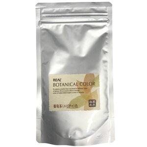 リアル化学 ボタニカルカラー 100g 葡萄茶(エビチャ)色