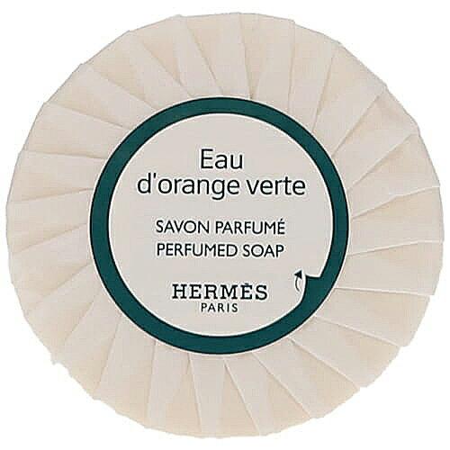 エルメス オードランジュ ヴェルト パルファムソープ 25g (ケース付) 石鹸 HERMES