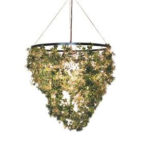 ペンダントランプ フォレスティグランデ|DI CLASSE ディクラッセ 照明 天井照明 シャンデリア シーリングライト デザイナーズ ナチュラル クラシック モダン シンプル グリーン 葉っぱ 造花 アーティフィシャルグリーン