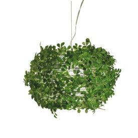 ペンダントランプ オーランドL|DI CLASSE ディクラッセ 照明 天井照明 シャンデリア シーリングライト デザイナーズ ナチュラル クラシック モダン シンプル グリーン 葉っぱ 造花 アーティフィシャルグリーン