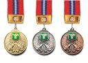 【レーザー文字無料】メダル 金属製・高級メダル(スタンド式ハードケース入)Vマーク90種目 直経50mm M-KMS82-C型 ト…