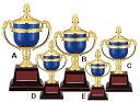 優勝カップ【レーザー文字彫刻無料】樹脂製 お手ごろ価格「青い 優勝カップ」W-FR158-Dサイズ●高さ205mm