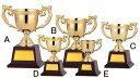 優勝カップ【レーザー文字彫刻無料】定番のゴールドカップAサイズ ●高さ245mm(トロフィー/販売/楽天/通販)