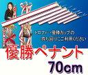ペナント(無地)優勝者リボン 700mm(70cm)