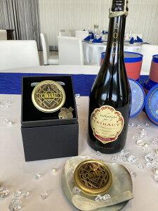 ミシュラン星付きレストランも採用【最高級 フレッシュキャビア】 ベルーガ 30g缶 、フランス産トリボー社最高級シャンパン、オーセンティック750mlの限定セット。ギフトボックス シェルス