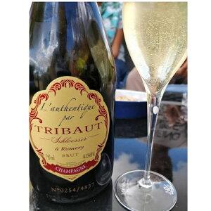 フランス、トリボー社最高級シャンパン、オーセンティック、750ml。2008年に2493本のみ生産の希少品!!シャンパン プレゼント 高級シャンパン シャンパーニュ地方 お祝い 最高級