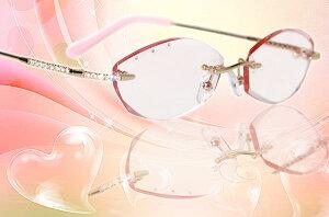■大きいフレーム■全面フロント幅140mm以上■llcrystal0001-LLXC6005[ベストワンオンラインショップ][おしゃれな眼鏡][通販メガネ][老眼鏡][乱視対応][シニアグラス][遠近両用] 可能