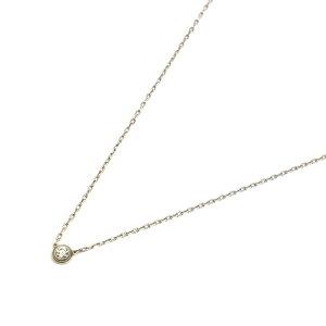 Cartier(カルティエ) ディアマン レジェ ドゥネックレス ネックレス ホワイト K18WG 750 3.0g ランクA