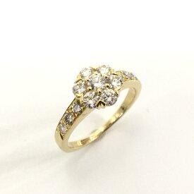 【特価商品】Van Cleef & Arpels(ヴァンクリーフ&アーペル)/ジュエリー フルーレットリング 指輪 レディース/リング/ゴールド系/K18YG(750)イエローゴールド×ダイヤモンド(石目刻印無)/【ランクA】/8号【中古】
