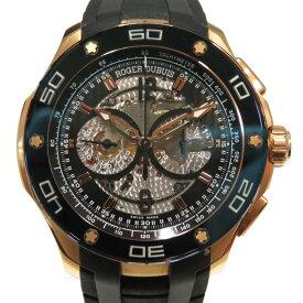 ROGER DUBUIS(ロジェ・デュブイ)/パルジョン クロノグラフ ウォッチ 腕時計 メンズ/オートマチック//ローズゴールド(K18RG)/【ランクA】(RDDBPU0003)【中古】ロジェデュブイ