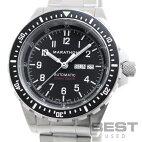 【仮】マラソン【MARATHON】ジェーディーディーオートマチックWW194021(1024-194021b)メンズブラックステンレススティール腕時計時計JDDAUTOMATICBLACKSS【中古】