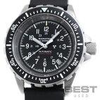 【売】【仮】マラソン【MARATHON】ジーサーオートマチックWW194006(1024-0000301)メンズブラックステンレススティール腕時計時計GSARAUTOMATICBLACKSS【中古】