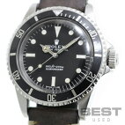 【仮】ロレックス【ROLEX】サブマリーナー5513メンズブラックステンレススティール腕時計時計SUBMARINERBLACKSS【中古】