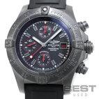 【仮】ブライトリング【BREITLING】アベンジャースカイランドブラックスティールM13380(M338B73PRB)メンズブラックステンレススティール(PVD)腕時計時計AVNGERSLYLANDBLACKSTEELBLACKSS(PVD)【中古】