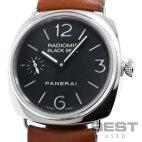 【仮】パネライ【PANERAI】ラジオミールブラックシールPAM00183(OP6644)メンズブラックステンレススティール腕時計時計RADIOMIRBLACKSEALBLACKSS【中古】