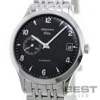 【仮】ゼニス【ZENITH】クラスエリート01/02.1125.680メンズブラックステンレススティール腕時計時計CLASSELITEBLACKSS【中古】