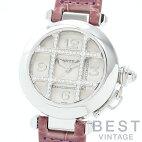 【仮】カルティエ【CARTIER】パシャ32ダイヤモンドグリッドWJ101456レディースシルバーK18ホワイトゴールド腕時計時計PASHA32GRIDDIAMONDSILVERK18WG【中古】