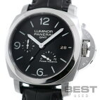 【仮】パネライ【PANERAI】ルミノール19503デイズGMTアッチャイオPAM00321(OP6818)メンズブラックステンレススティール腕時計時計LUMINOR19503DAYSGMTACCIAIOBLACKSS【中古】