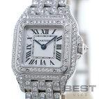 【仮】カルティエ【CARTIER】パンテールドゥカルティエHPI01129レディースシルバーK18ホワイトゴールド腕時計時計PANTHEREDECARTIERSILVERK18WG【中古】