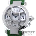 【仮】カルティエ【CARTIER】パシャ32ダイヤモンドグリッドWJ11932GレディースシルバーK18ホワイトゴールド腕時計時計PASHA32SILVERK18WG【中古】