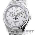 【仮】パテック・フィリップ【PATEKPHILIPPE】アニュアルカレンダー5146/1G-001メンズホワイトK18ホワイトゴールド腕時計時計ANNUALCALENDARWHITEK18WG【中古】