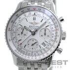 【仮】ブライトリング【BREITLING】ナビタイマーA23322(A232G32NP)メンズシルバーステンレススティール腕時計時計NAVITIMERSILVERSS【中古】