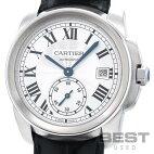 【仮】カルティエ【CARTIER】カリブルドゥカルティエWSCA0003メンズシルバーステンレススティール腕時計時計CALIBREDECARTIERSILVERSS【中古】