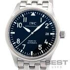 【仮】【OH済】インターナショナルウォッチカンパニー【IWC】マーク16IW325501メンズブラックステンレススティール腕時計時計PILOT'SWATCHMARKXVlBLACKSS【中古】