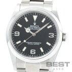 【仮】ロレックス【ROLEX】エクスプローラー1114270メンズブラックステンレススティール腕時計時計EXPLORERlBLACKSS【中古】