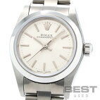 【仮】ロレックス【ROLEX】オイスターパーペチュアル76080レディースシルバーステンレススティール腕時計時計OYSTERPERPETUALSILVERSS【中古】
