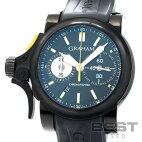 【仮】グラハム【GRAHAM】クロノファイターRACトリガー2TRAB.B01A.K43Dメンズブラックステンレススティール(ブラックPVD加工)腕時計時計CHRONOFIGHTERRACTRIGGERBLACKSS(PVD)【中古】