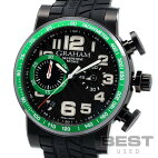 【仮】グラハム【GRAHAM】シルバーストーン2SAAB.B02Aメンズブラックステンレススティール(ブラックPVD加工)腕時計時計SILVERSTONEBLACKSS(PVD)【中古】