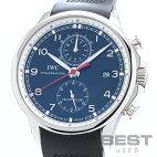 【仮】インターナショナル・ウォッチ・カンパニー【IWC】ポルトギーゼヨットクラブIW390204メンズブラックステンレススティール腕時計時計PORTUGUESEYACHTCLUBBLACKSS【中古】