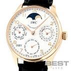 【仮】インターナショナル・ウォッチ・カンパニー【IWC】ポルトギーゼパーペチュアルカレンダーIW502213メンズシルバーK18ローズゴールド腕時計時計PORTUGUESEPERPETUALCALENDARSILVERK18RG【中古】