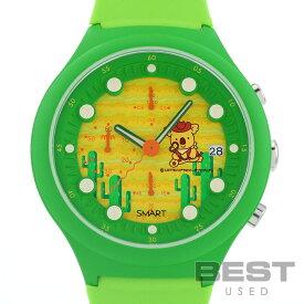 ジーエスエックス 【GSX】 スマートスタイル コアラのマーチ グリーン プラスチック 腕時計 時計 SMART STYLE #3 CARIBIAN BEACH GREEN PL 【中古】